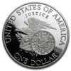 "Picture of Срібна монета ""Liberty - Роберт Ф. Кеннедi"" 1 долар США"