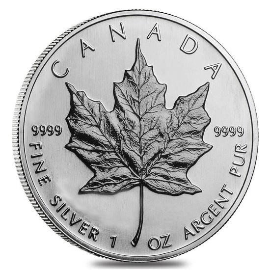 "Picture of ""Канадский кленовый лист"" 1991 г 31,1 грамм"
