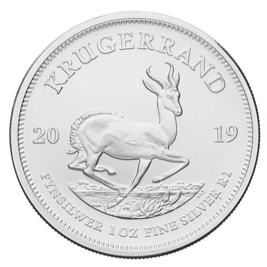 Picture of Серебряная монета Крюгерранд 31.1 грамм, 2019 г.