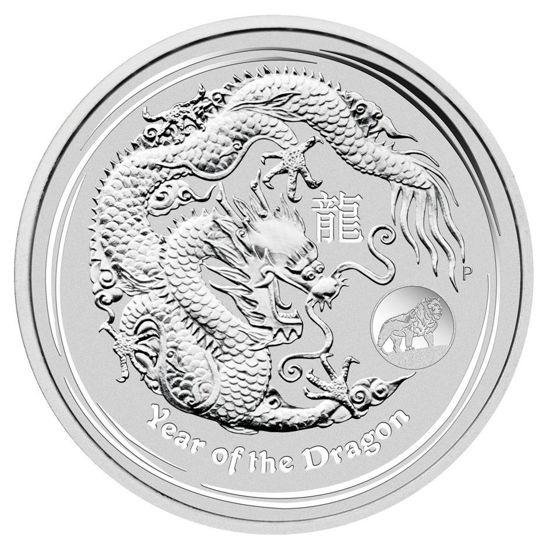 "Picture of Срібна монета ""Рік Дракона"" 1 долар 2012 31,1 грам"