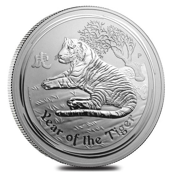 "Picture of Серебряная монета ""Год Тигра"" 30 долларов Австралия 1000 грамм"