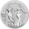 Picture of Сериия«Аллегории» 31.1 грамм Silver Round - Germania Italiya  Allegories 2020