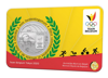 Picture of Бельгия 5 евро 2021, Олимпиада в Токио 2020: Олимпийская сборная Бельгии, BU (блистер)