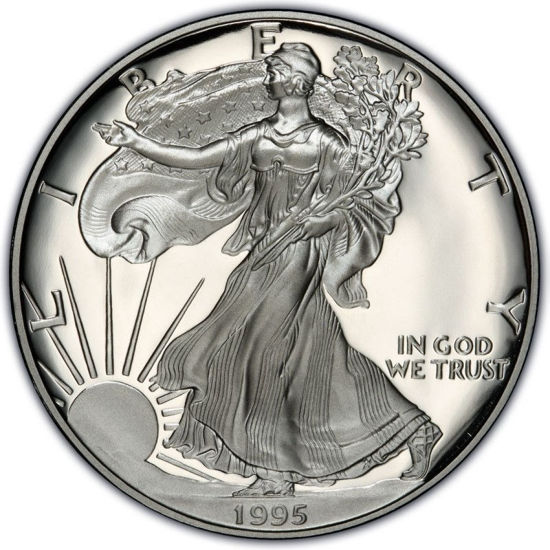 Picture of 1 $ долар США Американський Срібний Орел Liberty 1995 р