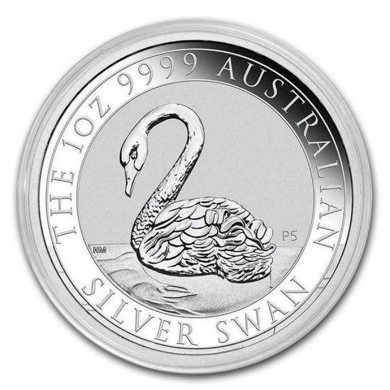 Picture of Серія срібних монет Австралії «Лебідь» 31,1 грам 2021