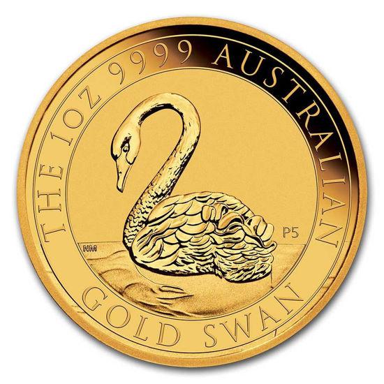 Picture of Серия монет Австралии «Лебедь» 2021 Золото 31,1 грамм