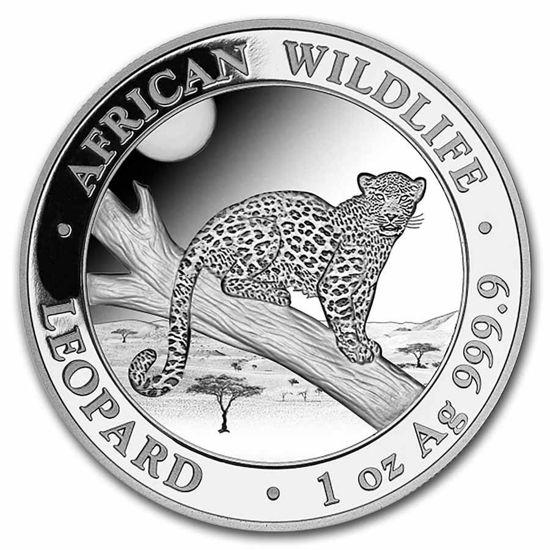 """Picture of Леопард - серія """"Африканська Дика Природа"""" 31,1 грам 2021"""