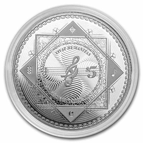 "Picture of Срібна монета ""Хай живе Людство - Vivat Humanitas"" 31.1 грам 2021 р Токелау"