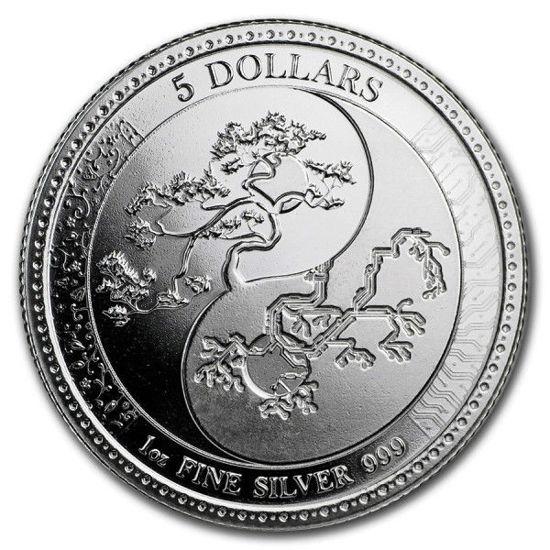 "Picture of Серебряная монета ""Равновесие - Equilibrium"" 31.1 грамм 2018 г. Токелау"
