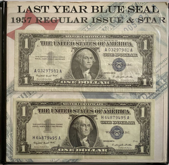 Picture of 1957 г. Монетный двор американского наследия Историческая чеканка США