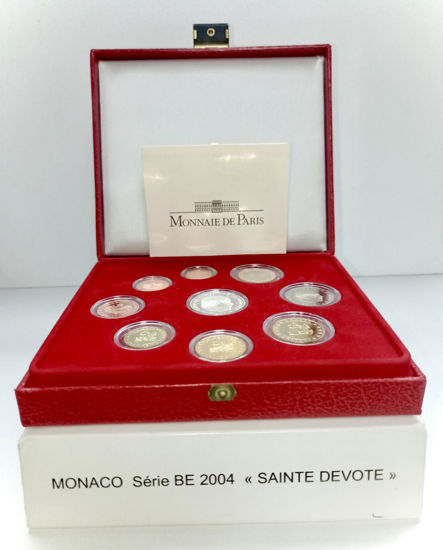 Picture of Набір євро монет МОНАКО 2004 р.