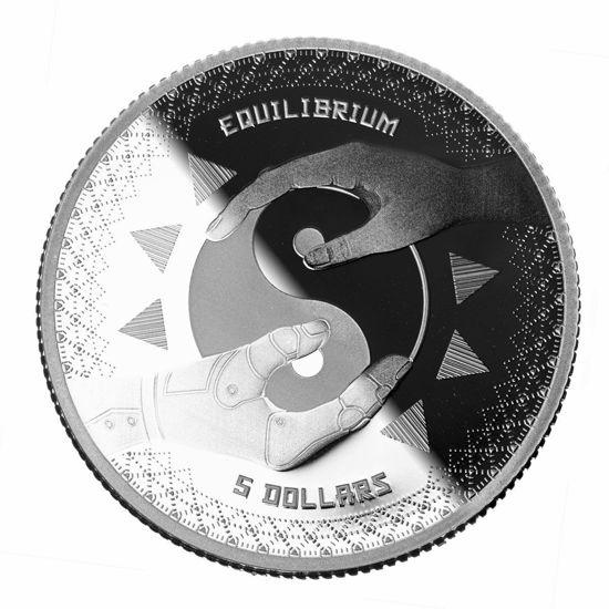 "Picture of Срібна монета ""Рівновага - Equilibrium"" 31.1 грам 2020 р. Токелау"