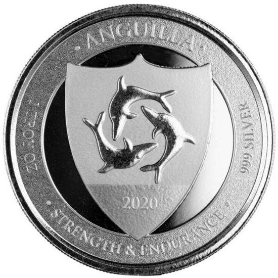 "Picture of Срібна монета ""Ангілья Герб"" 31.1 грам 2020"