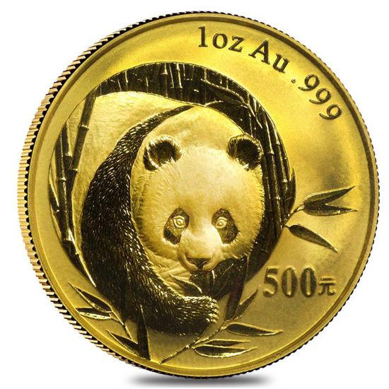 """Picture of Золота монета """"Китайська Панда"""" 31,1 грам 2003 р."""