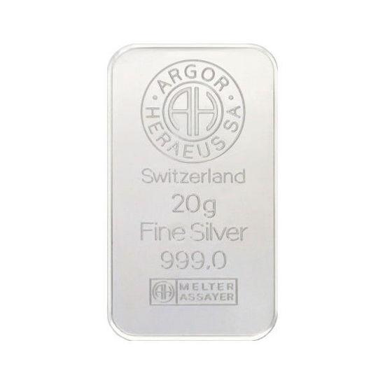 Picture of Срібний злиток 20 грам