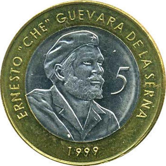 Picture of Куба 5 песо 1999 року, Ернесто Че Гевара
