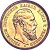 Picture of 1873-1888 рр. Німеччина Золото 10 марок Вільгельм I
