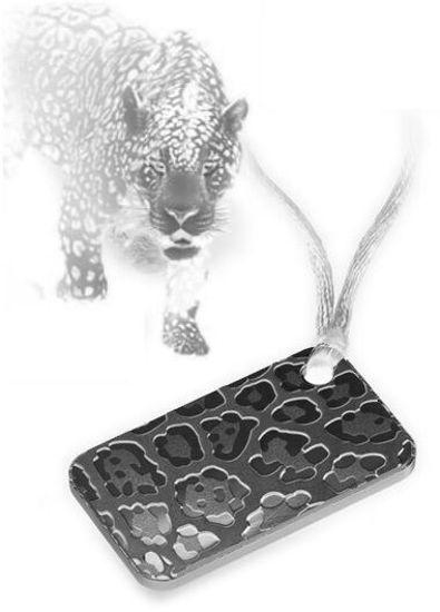 "Picture of Серебряные слитки - 20 грамм ""Леопард"" - серия красота природы PAMP"