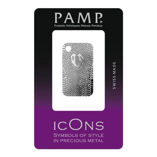 """Picture of Срібні злитки - 20 грам """"Кобра"""" - серія краса природи PAMP"""