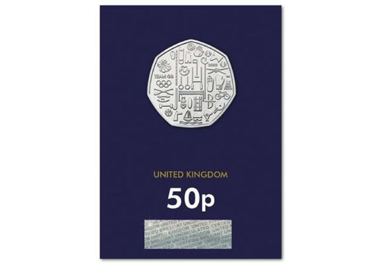 Picture of Англія, Великобританія 50 пенсів 2021. Олімпійська сбірна Великобританії . Блістер