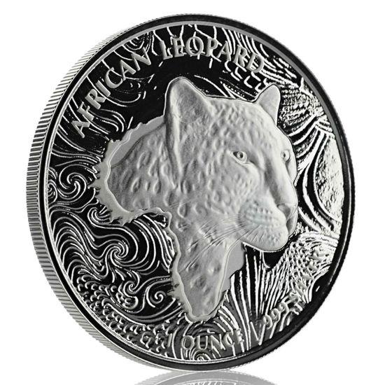 "Picture of Серебряная монета ""Африканский Леопард"" 31.1 грамм 2019 г."