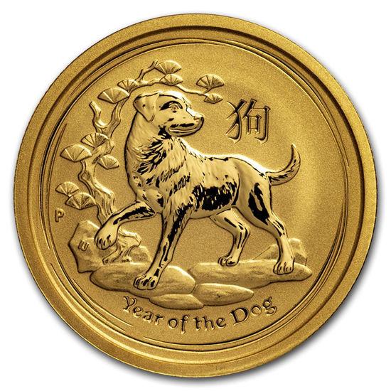 "Picture of Золота монета ""Рік Собаки"" Lunar II Series 25 доларів"