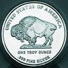 """Picture of Срібна монета """"Американський Буффало (Бізон)"""" 31.1 грам - 2013"""
