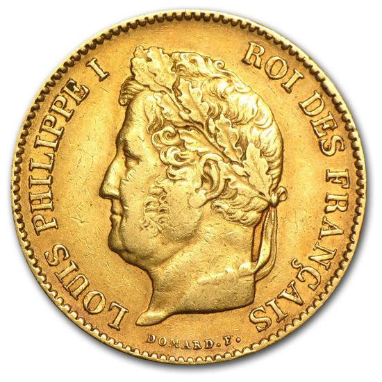 Picture of 1831-1838 Франція Золото 40 франків Луї-Філіп I