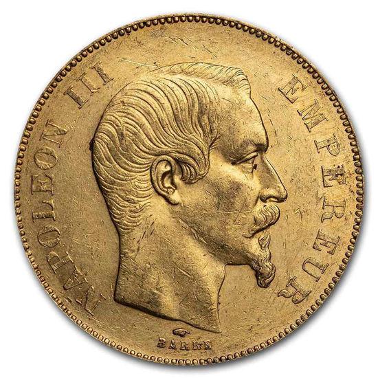 Picture of 1857 A Франція, золото 50 франків Наполеон III