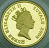 "Picture of Золотая монета ""Лошадь"" 6,22 грамм Тувалу 2010"