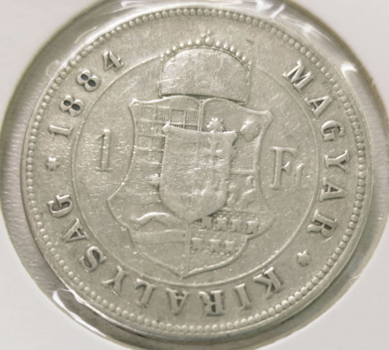 Picture of 1 форинт 1857-1892 Венгрия Серебро