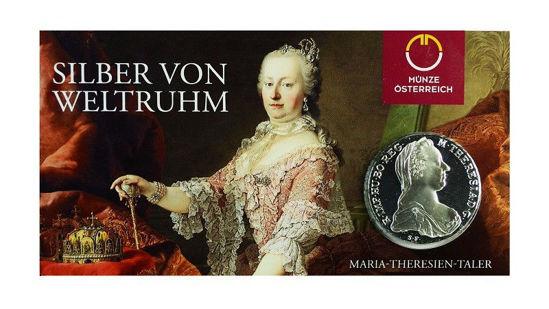 Picture of Талер Марии Терезии в открытке