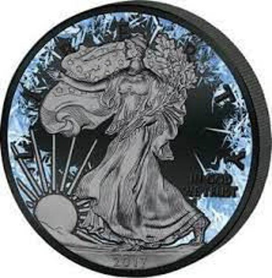 "Picture of Срібна монета ""Американський орел Liberty - DEEP FROZEN EDITION"" 31.1 грам 2017 р. США"