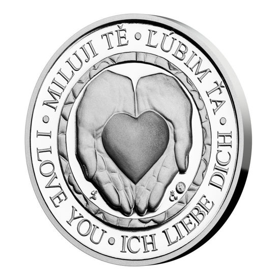 Picture of Срібна медаль «Любов» 10 грам 2021 р.
