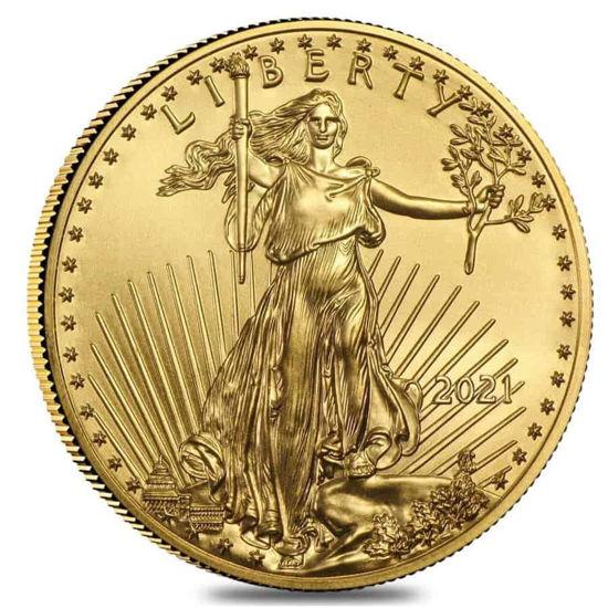 "Picture of Золота монета ""Американський орел - Liberty"" 15.55 грам 2021 р."