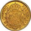 """Picture of Золотая монета """"Испанский щит Карлоса III"""" 3.38 грамм 1781 г."""