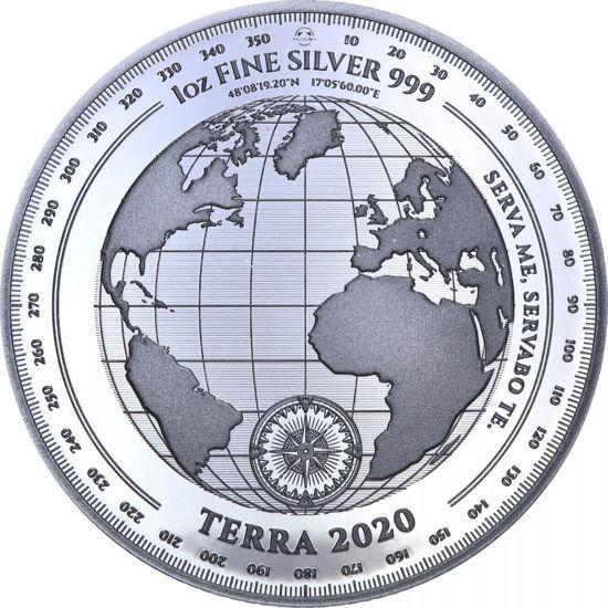 "Picture of Срібна монета ""Терра - Terra"" 31.1 грам 2020 р. Токелау"
