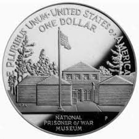 """Picture of """"Liberty - Национальный музей военнопленных"""" 1 доллар США 1994"""