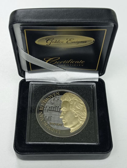 "Picture of Серебряная монета ""Бетховен"" (Gold Black Empire Edition)"