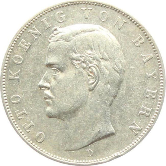 Picture of Серебряная монета 3 Марки -Отто 1910