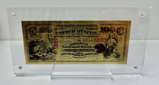 Picture of Позолочена банкнота 100 євро