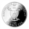 "Picture of Серебряная монета ""Любовь в воздухе"" 31.1 грамм 2021 г. Камерун"