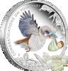 """Picture of Срібна монета """"Новонароджений"""" 15.55 грам Австралія"""